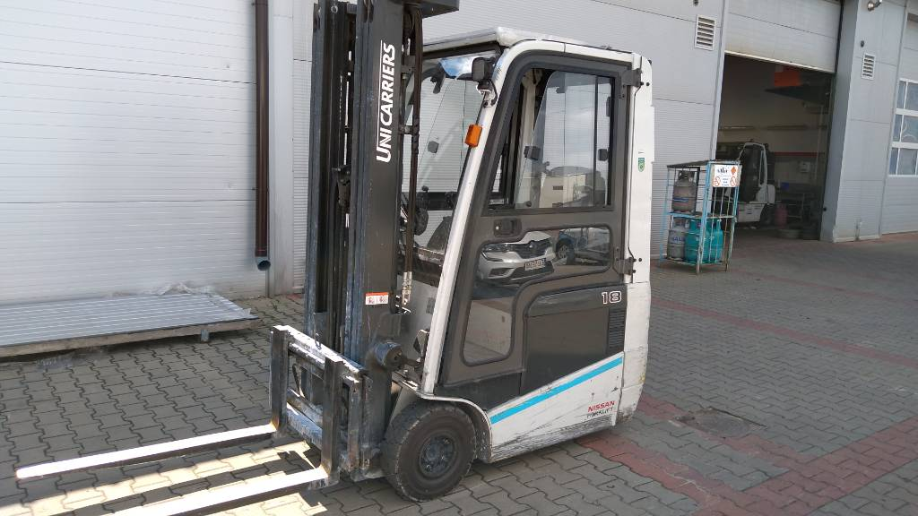 UniCarriers / NISSAN A1N1L18Q, Electric forklift trucks, Material Handling
