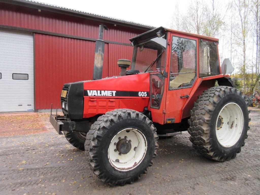 Valmet 605, Traktorit, Maatalous