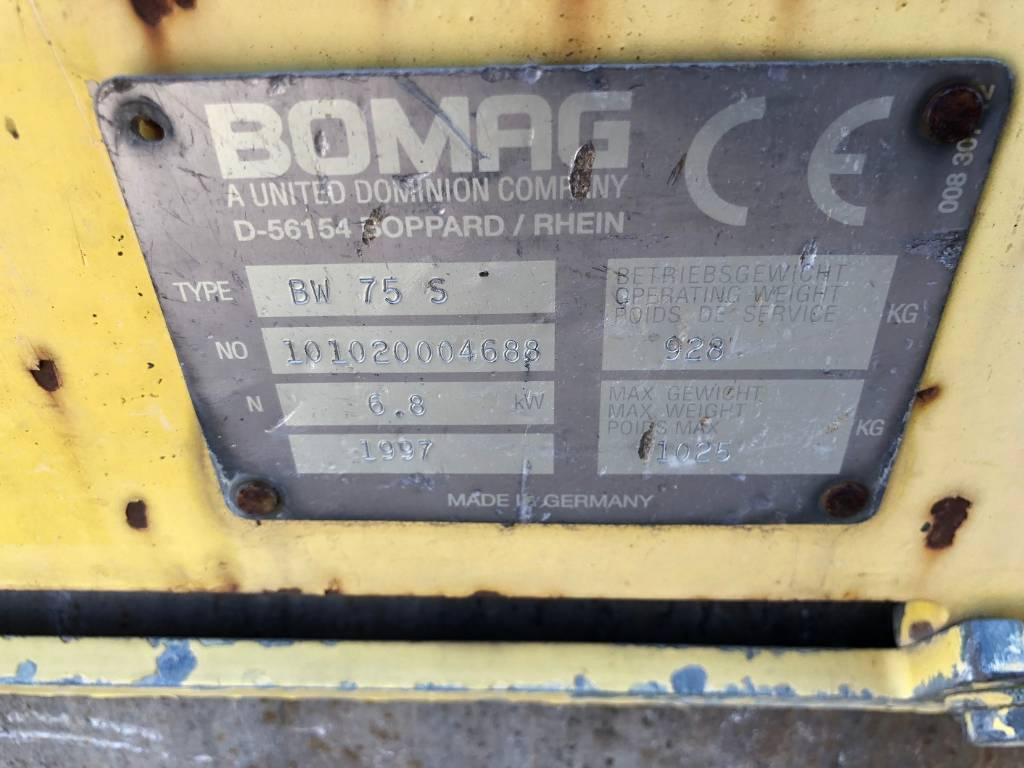 Bomag BW75S, Tandemwalzen, Baumaschinen