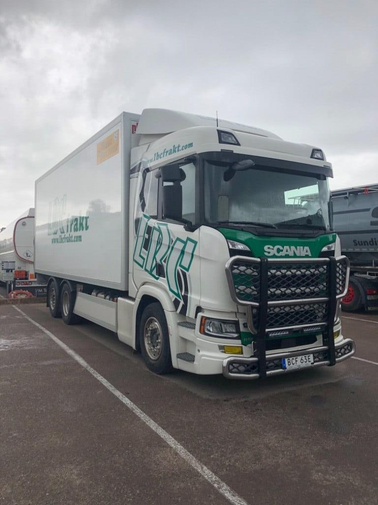 Scania R 500, Skåpbilar, Transportfordon
