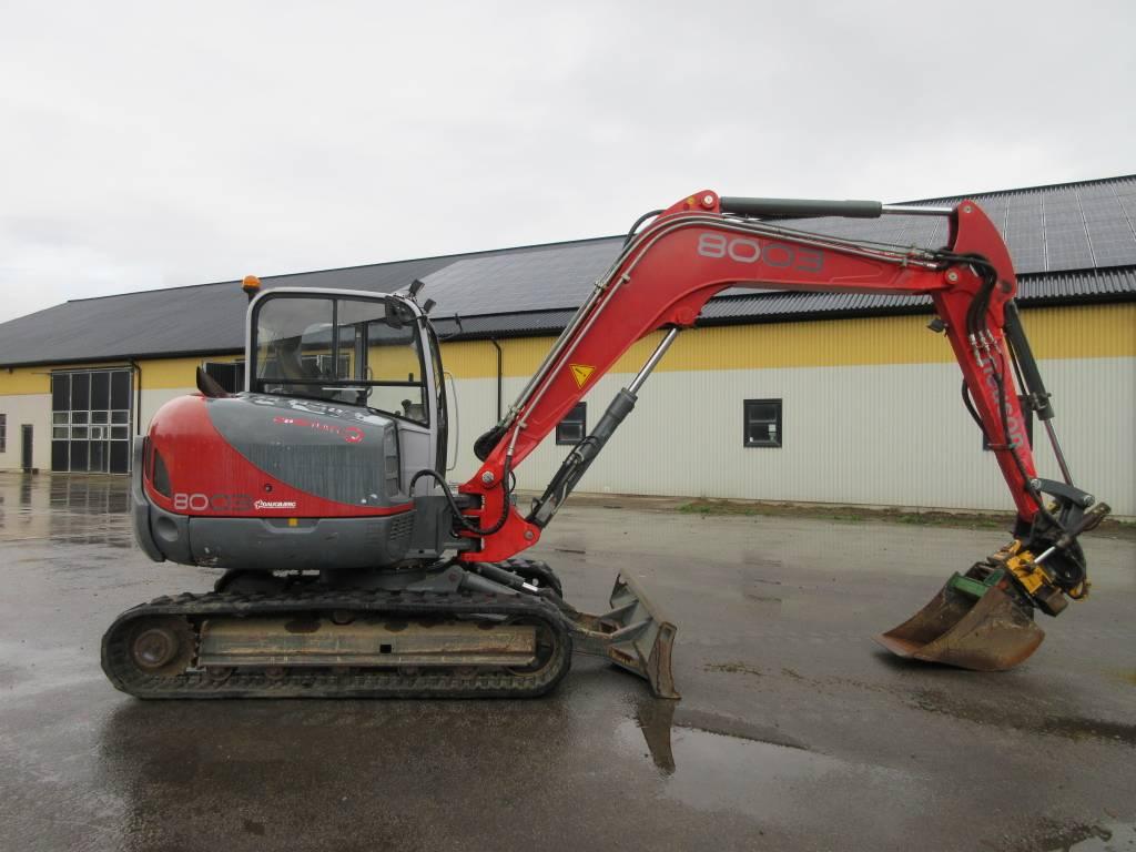 Neuson 8003 RD grävmaskin, rototilt, Midigrävmaskiner 7t - 12t, Entreprenad