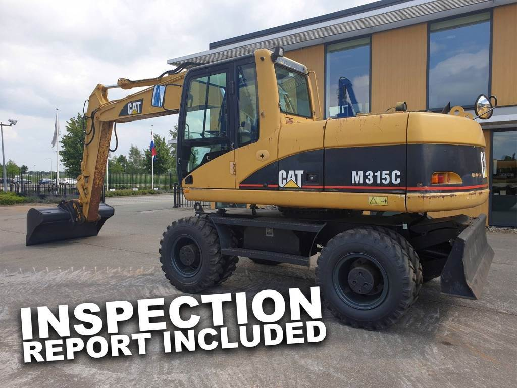 Caterpillar M315 C - New Tires!, Wielgraafmachines, Bouw