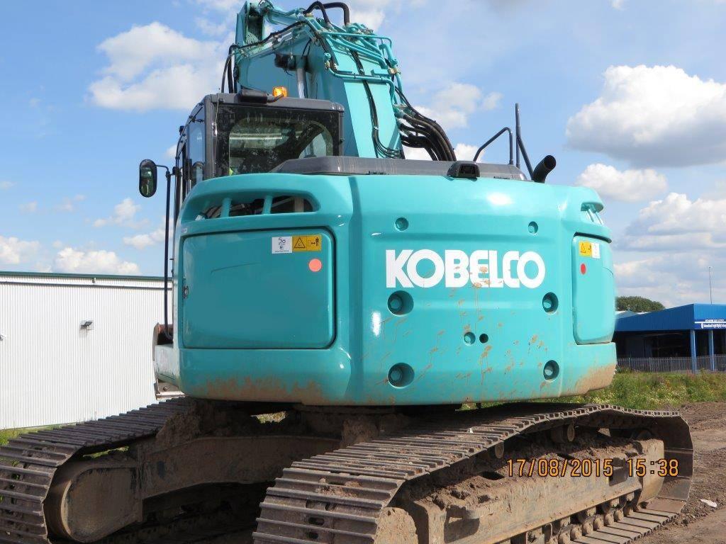 Kobelco SK 230 SR LC, Uthyres, Bandgrävare, Entreprenad