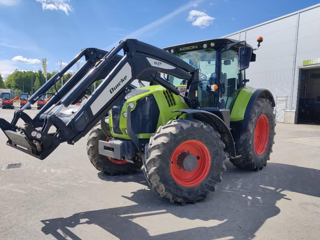 CLAAS Arion 650, Traktoriai, Žemės ūkis