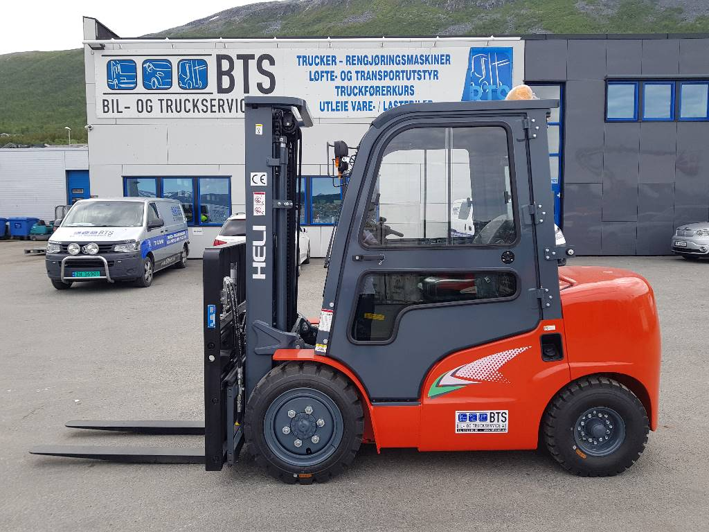 Heli CPCD30 (G2) - 3 tonns dieseltruck (PÅ LAGER), Diesel Trucker, Truck