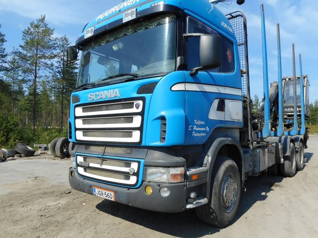 Scania R500, Puuautot, Kuljetuskalusto