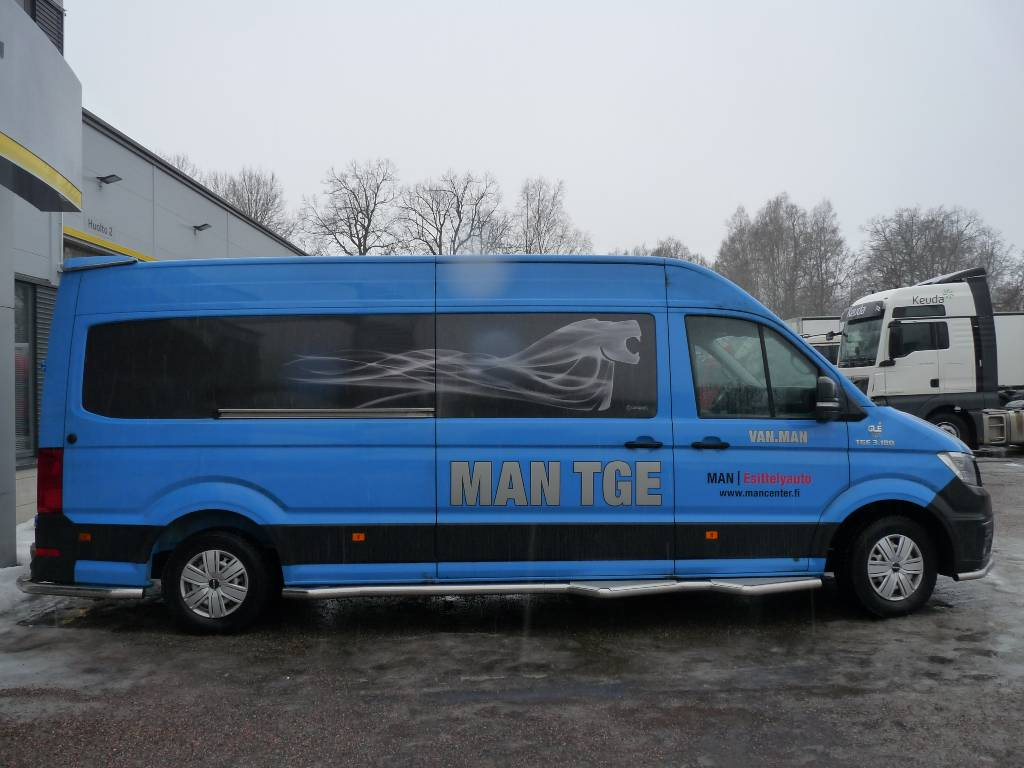 MAN TGE 3.180 2,0 TDI 130kW 4490 fwd autom. retkeilyau, Pakettiautot, Kuljetuskalusto