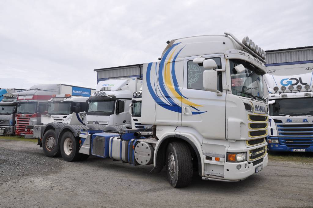 Scania R730 LB 6X2*4HNA, Chassier, Transportfordon
