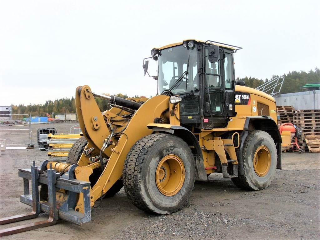 Caterpillar 926M, Hjullastare, Entreprenad