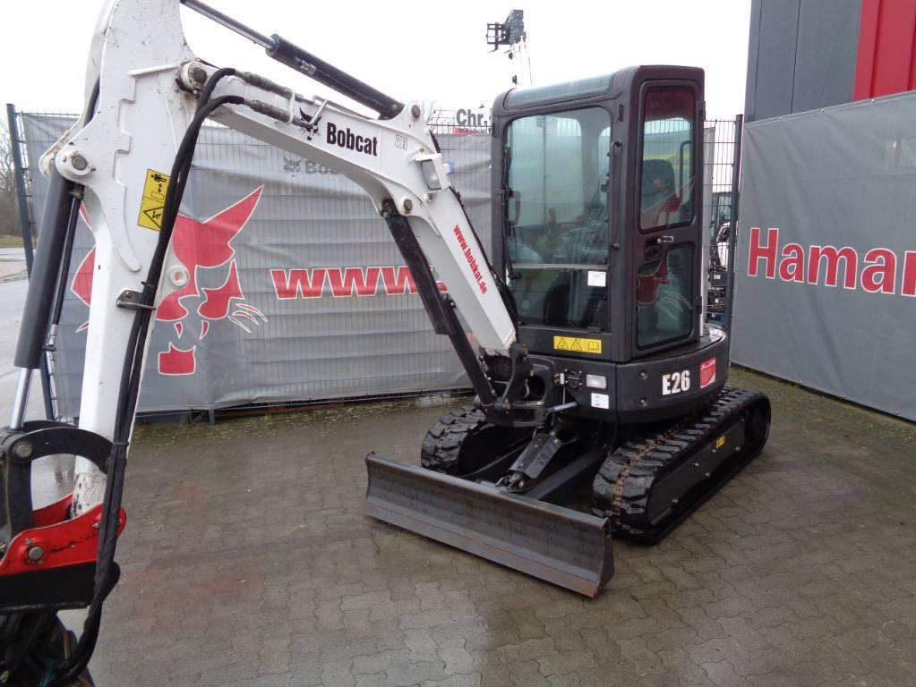 Bobcat E 26, Mini digger, Construction Equipment