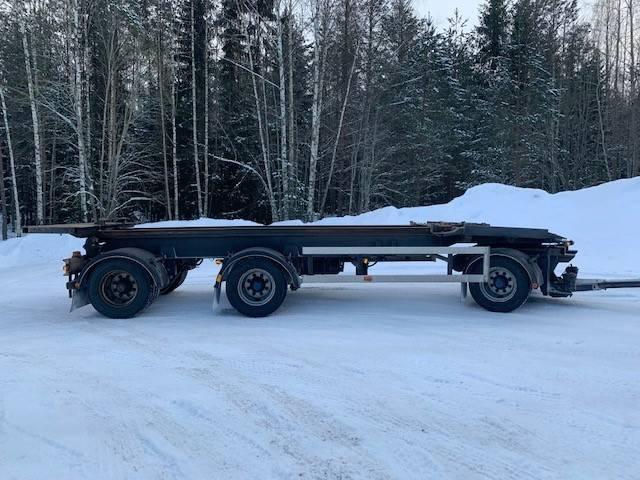 Roadex Lastväxlarsläp med tipp/lastväxlarvagn, Lastväxlarsläp, Transportfordon