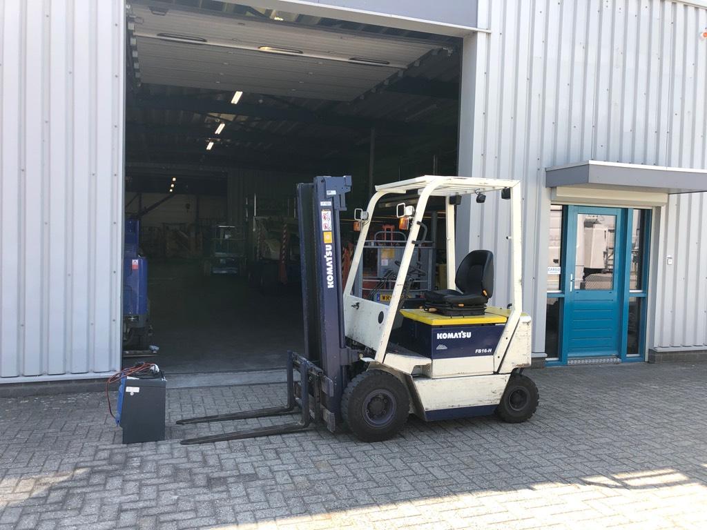 Komatsu Heftruck, elektro, 1600 kg., Elektrische heftrucks, Laden en lossen