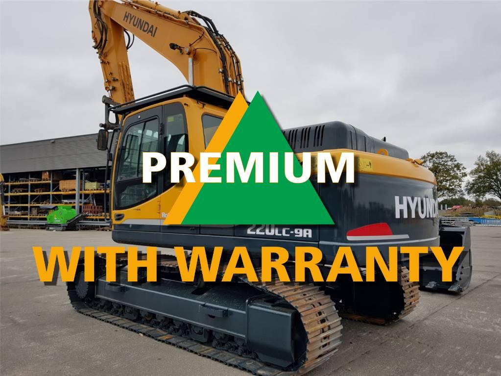 Hyundai Robex 220 LC-9 A, Crawler Excavators, Construction Equipment