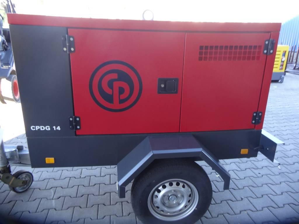 Chicago Pneumatic CPDG 14, Diesel Generatoren, Baumaschinen
