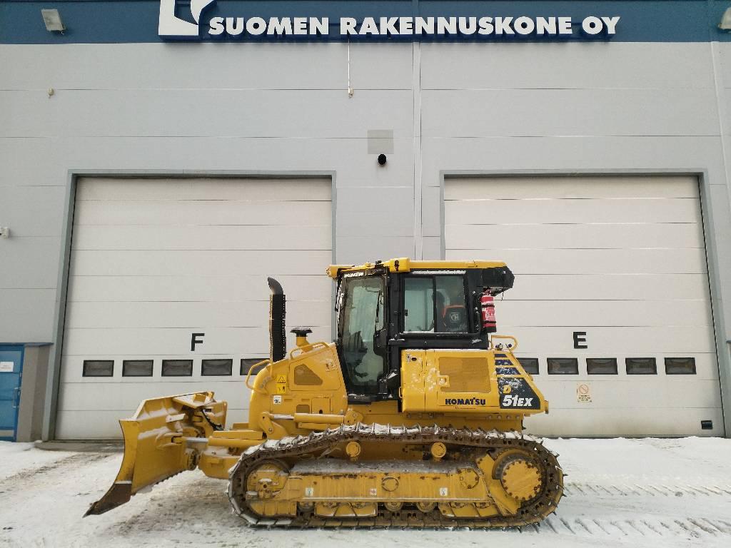 Komatsu D51EX, Crawler dozers, Construction Equipment