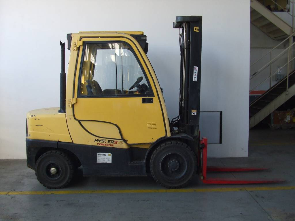 Hyster H3.5FT, Diesel counterbalance Forklifts, Material Handling