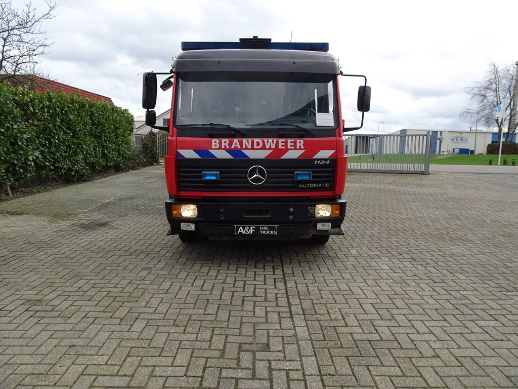 Mercedes Benz 1124 Rosenbauer  Firetruck, Fire trucks, Transportation