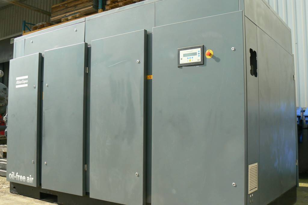 Atlas Copco ZR 300, Compressors, Industrial