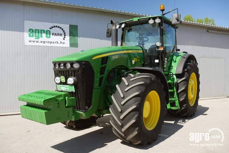 John Deere 8430 ILS (11536 hours), Powershift 16 5