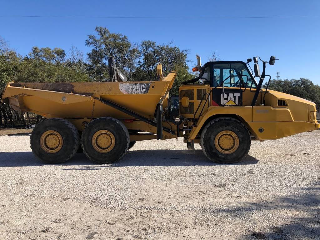 Caterpillar 725C, Articulated Dump Trucks (ADTs), Construction Equipment