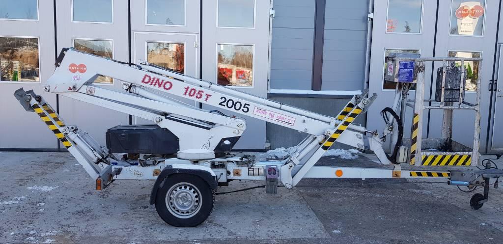 Dino 105 T, Skylift, Entreprenad