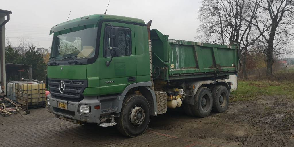 Mercedes-Benz Actros 3350 V8 6x4 Bordmatic, Wywrotki, Transport