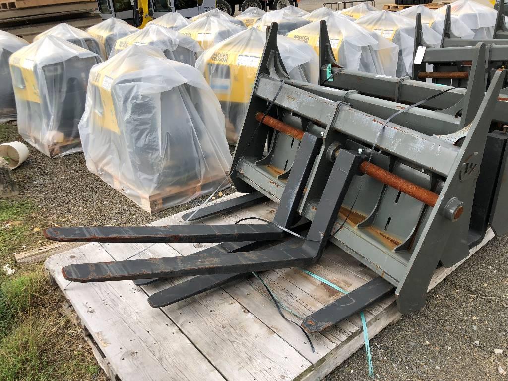 Werk Brau Class III Pallet Forks, Wheel Loader Attachments, Products