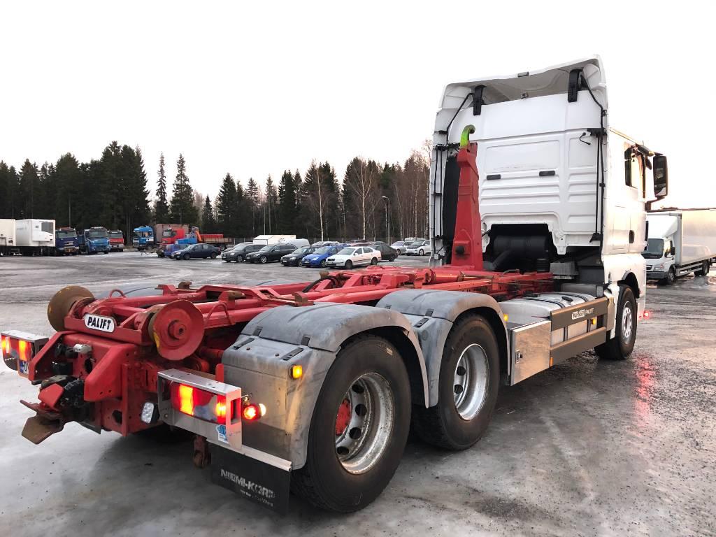 MAN TGX 26.540 6x2, Koukkulava kuorma-autot, Kuljetuskalusto