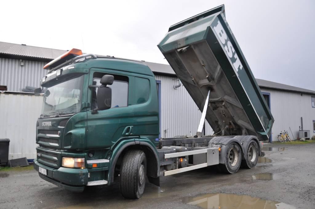 Scania P360  LB6X4HNA, Tippbilar, Transportfordon