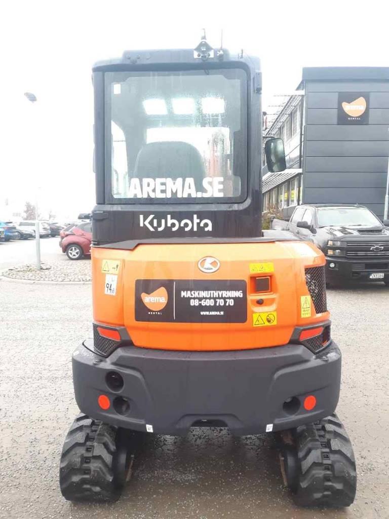 Kubota KX 037-4 *UTHYRES/FOR RENT*, Minigrävare < 7t, Entreprenad