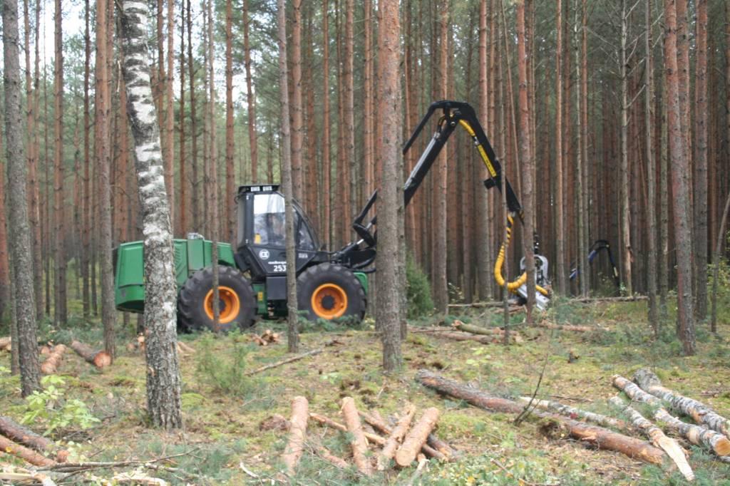 Amkodor 2531, Harwestery, Maszyny leśne