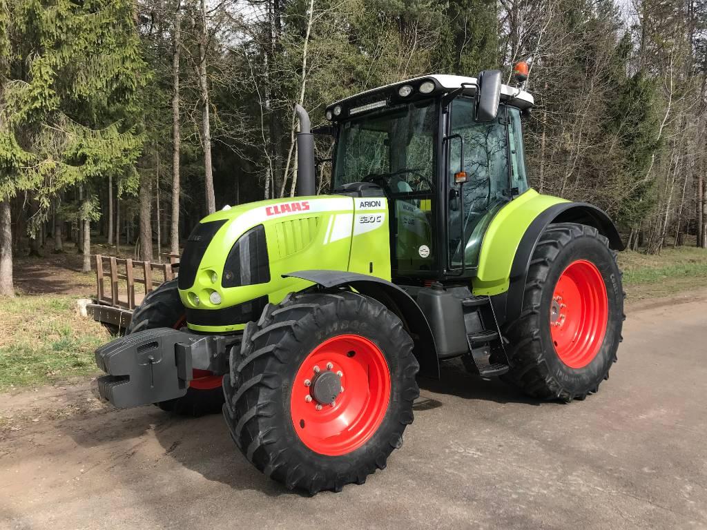 CLAAS Arion 630 C, Traktoriai, Žemės ūkis
