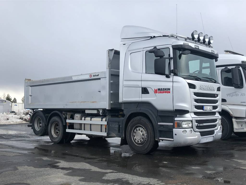 Scania R 480 LB, Tippbilar, Transportfordon