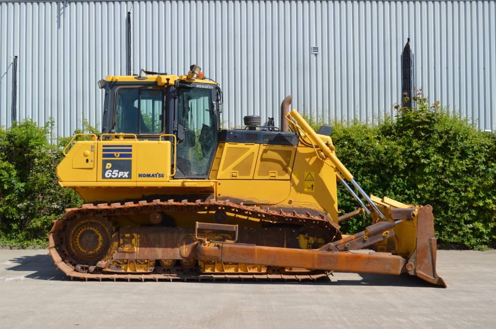 Komatsu D65PX-18, Crawler dozers, Construction Equipment