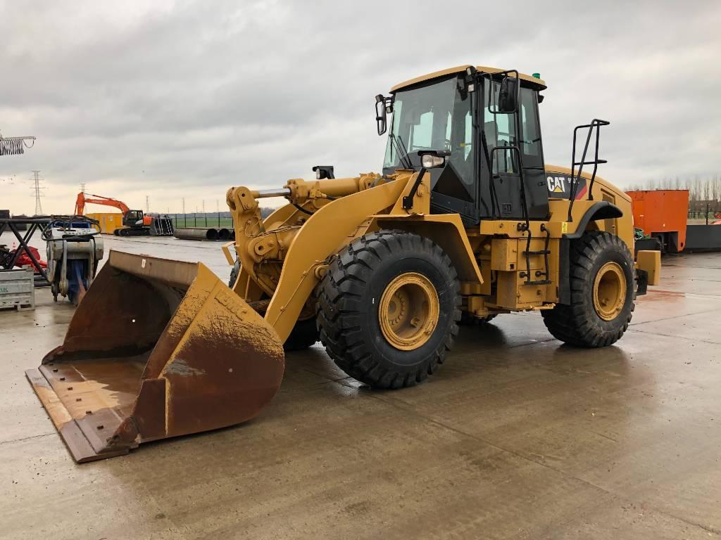 Caterpillar 950 H (full steering), Wheel loaders, Construction
