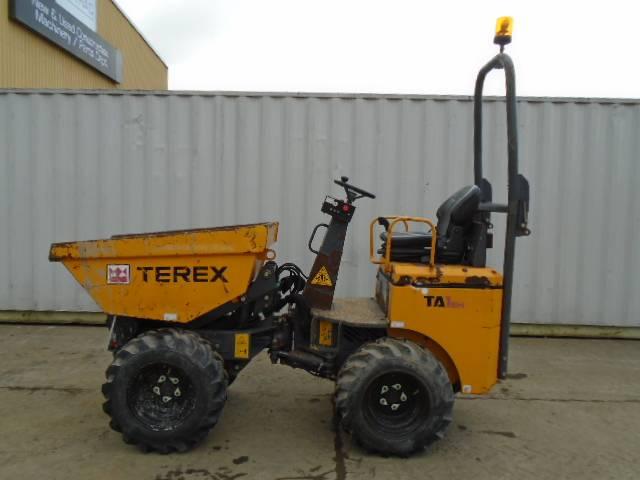 Terex Ta1eh Site Dumpers Construction Cautrac