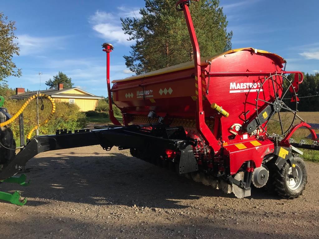 Junkkari Maestro 4000, Kylvölannoittimet, Maatalous