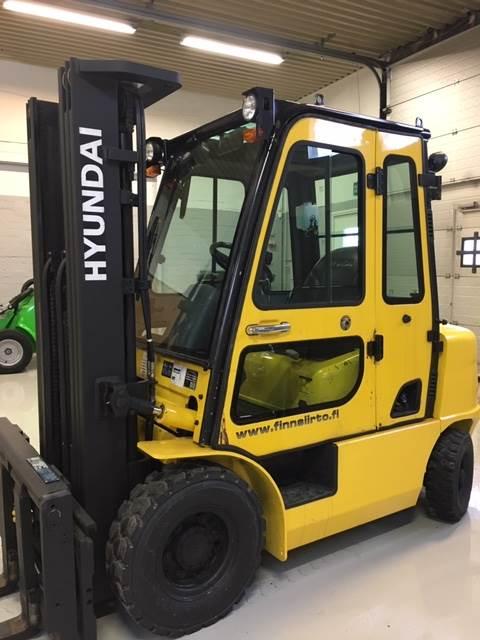 Hyundai 25D-7E, Dieseltrukit, Materiaalinkäsittely