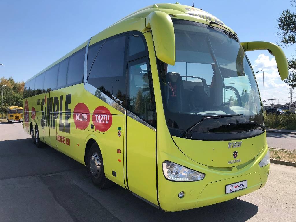 Scania Irizar I6, Kaugsõidubussid, Transport