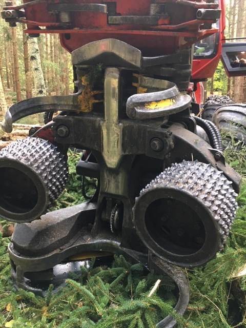 Komatsu 340, Harvester Heads, Forestry Equipment