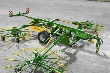 Krone Swadro 1400 Plus, Vaalutid ja kaarutid, Põllumajandus