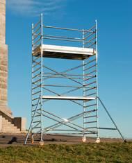 Boss Rullställning med trappa smal 4,20 m, Byggställningar, Entreprenad