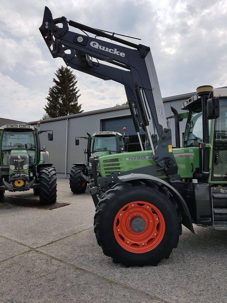 Quicke Q55, Autres équipements de chargement et de levage, Agricole