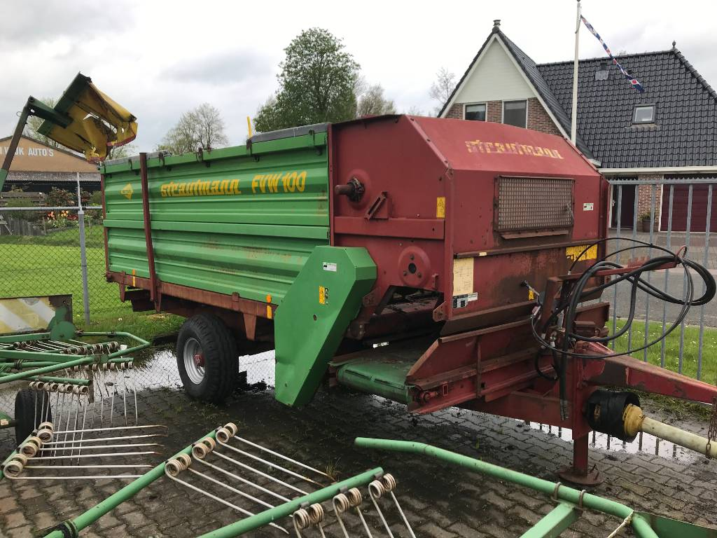 Strautmann FVW 100, Mixer feeders, Agriculture