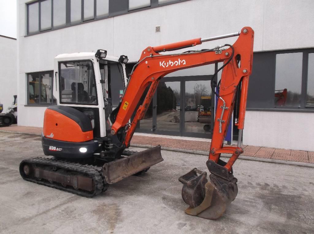 Kubota U 30, Mini Excavators <7t (Mini Diggers), Construction Equipment