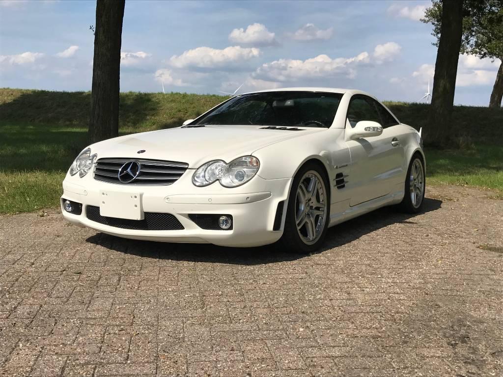 Mercedes-Benz sl 55 AMG AMG 65 PACKAGE *** 41.000 km ***, Cars, Transport