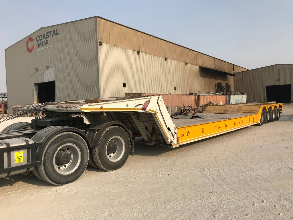 Gorica LFA 80.13, Low loader-semi-trailers, Transportation