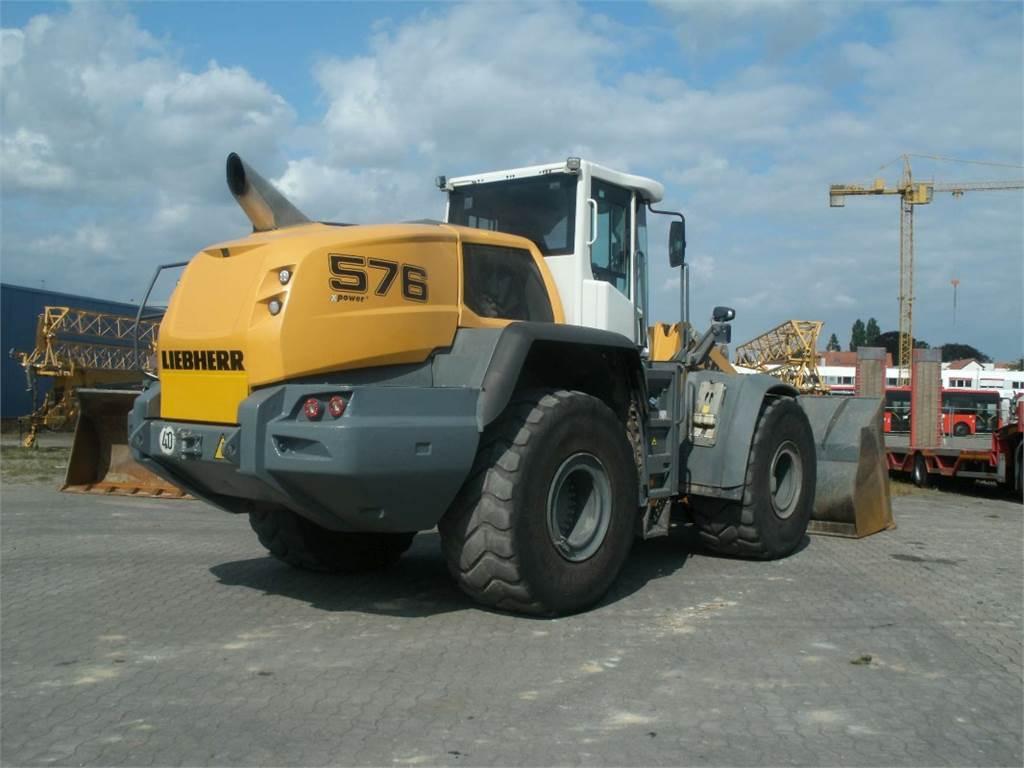 Liebherr L 576 X-Power, Radlader, Baumaschinen