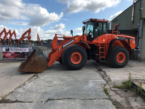 Doosan DL 420-5, Wheel Loaders, Construction Equipment