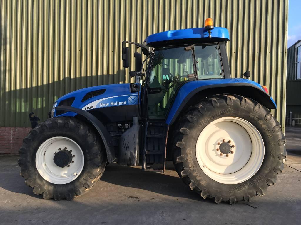 New Holland T 7550, Tractoren, Landbouw